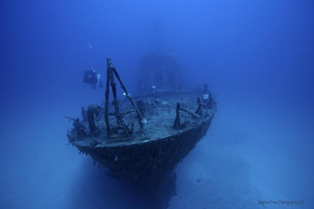 Sunken Navy Patrol Boat - P29
