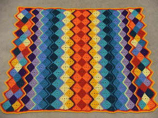 The Rainbow Zigzag blanket