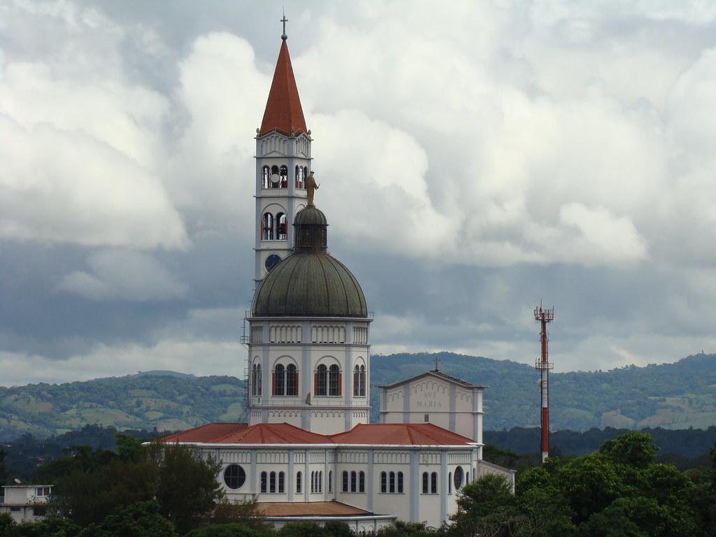 Basilica of Maria Auxiliadora, El Salvador.