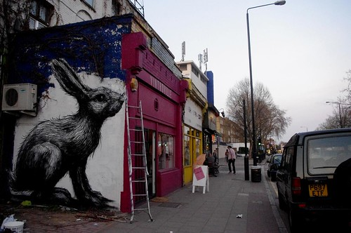 roa on hackney road