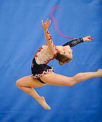 Rhythmic gymnastics Western Canadian championship 2010