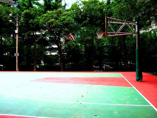 中强公园篮球场
