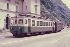 Trains du Biasca Acquarossa (ligne disparue) Suisse