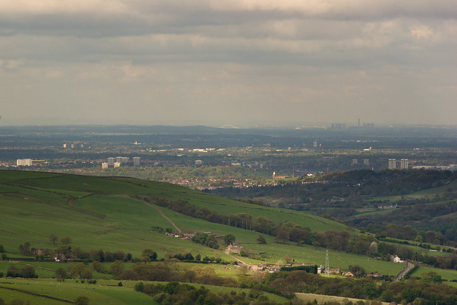 As far as you can see from Glossop