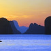 Morning Sun and Limestone Karsts of Thailand by Stewart =W=