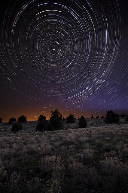 Polaris, All Night Long:  Eastern Oregon
