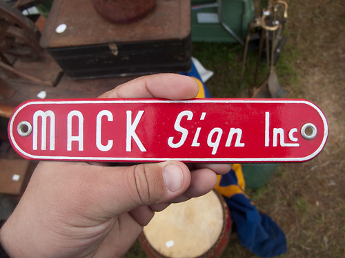 Mack Sign Inc. by Draplin