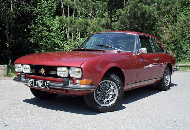 Peugeot 504 coupé 1973 by fred blot