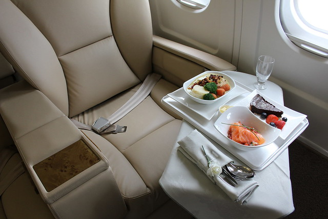 In Flight Meal VIP Style