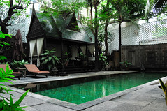 The Eugenia hotel pool in Bangkok Thailand