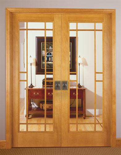Feather River Door Wood Interior Doors 13 Lite Wood Grille Option In Pine Double Door Flickr