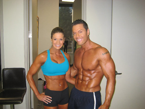 Top Fitness Model Couple Diana Chaloux and Micah LaCerte