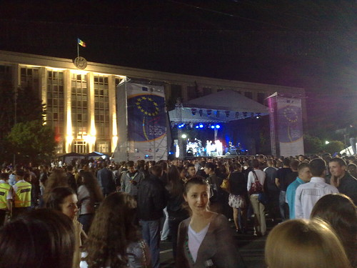 Moldova celebrates the EU