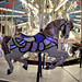 Small photo of White carousel horse