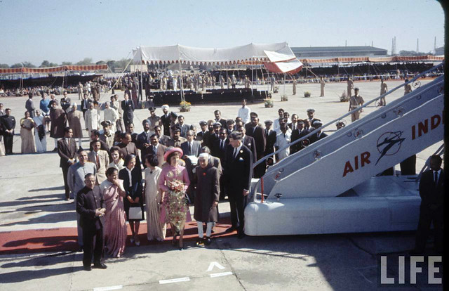 Jackie Kennedy visits India - March 01, 1962