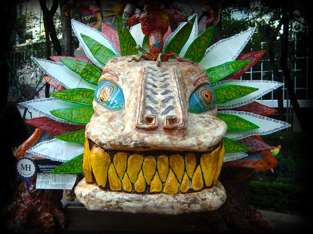 See other examples of Alebrijes, or Mexican sculptures, on April 30. Photo courtesy of Flickr user A30_Tsitika