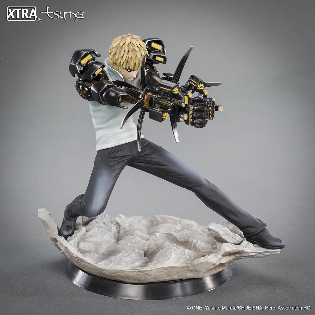 TSUME 一拳超人系列【魔鬼生化人:傑諾斯】XTRA Genos 1/10 比例全身雕像