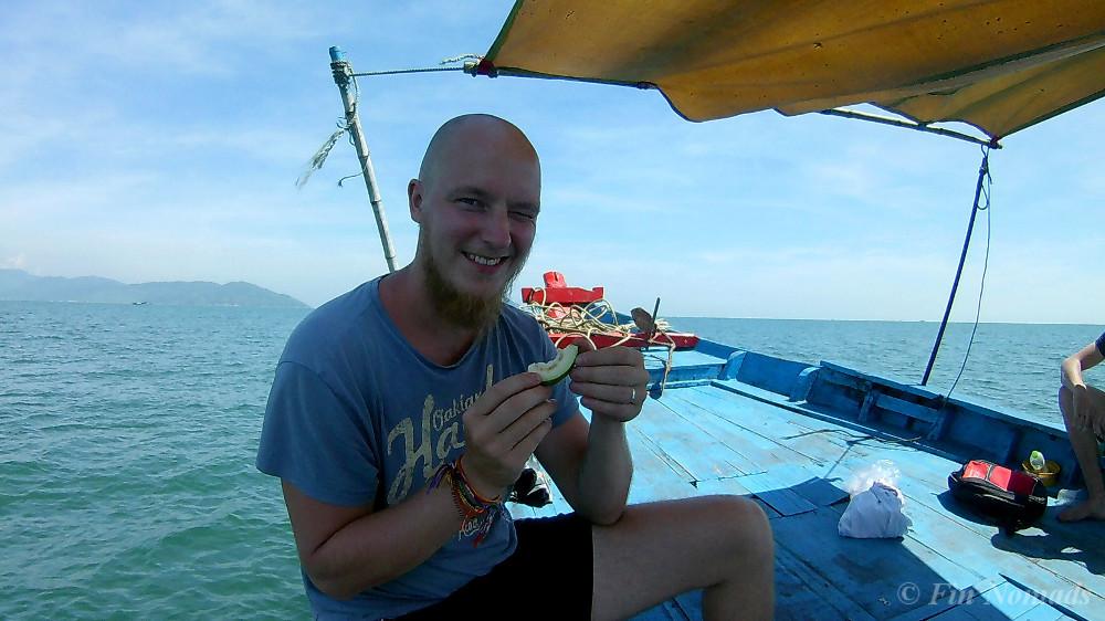 boat trip da nang 2