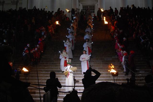 Santa Lucía en Helsinki