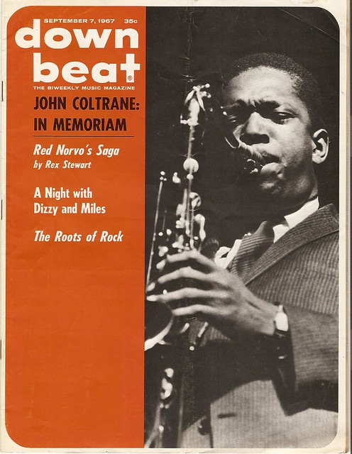 John Coltrane Downbeat memoriam 1967
