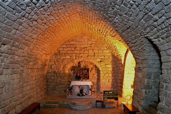 Synagogue Church, Nazareth, by seetheholyland.net