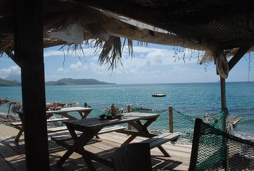 beach bar caribbean stkitts shipwreckbeach