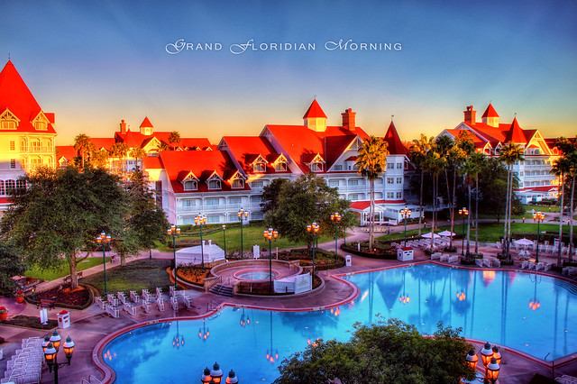 Sunrise Over the Grand Floridian