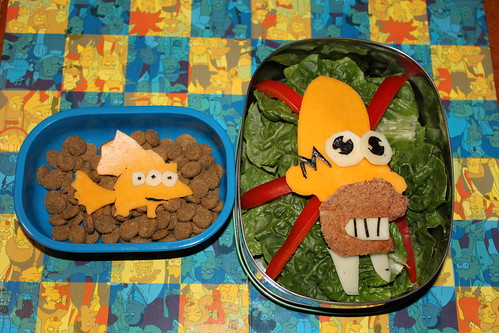 Simpsons-Inspired Bento