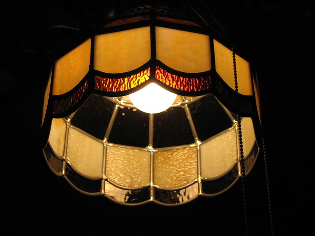 stained glass light fixture flickr photo sharing. Black Bedroom Furniture Sets. Home Design Ideas