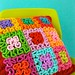 Squiggle Crochet Patchwork