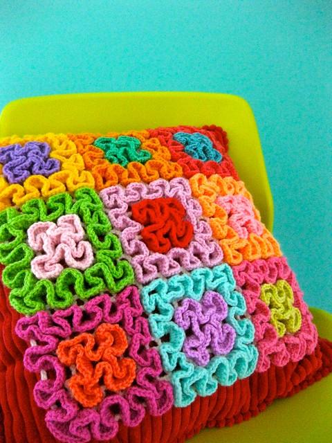 Squiggle Crochet Patchwork