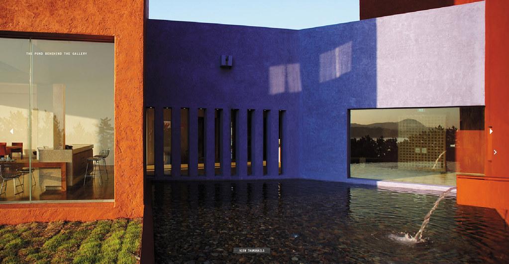 Ricardo Legorreta / The Gallery Casa Del Agua by Cooky Yoon, on Flickr The Gallery Casa Del Agua, Jeju Island
