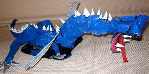 Dragon Homeschool Art Project