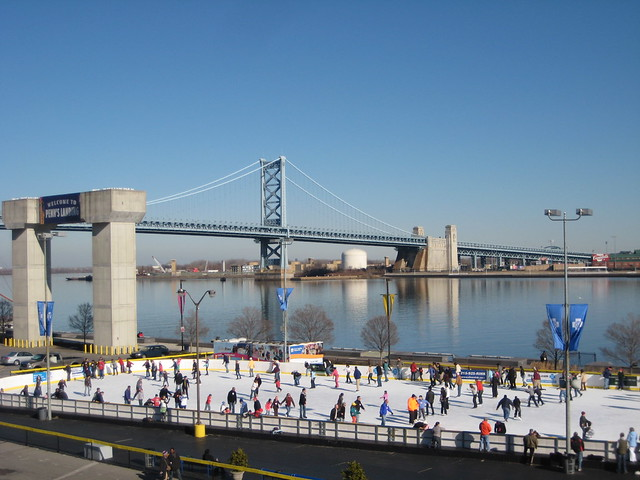 Philadelphia Skating Rink City Hall
