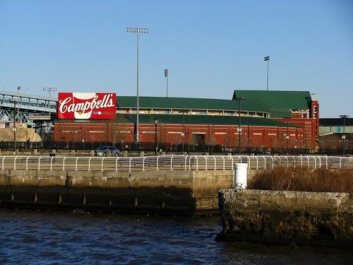 Campbells Field, Minor League Baseball Stadium in Camden, New Jersey by Bogdan Migulski