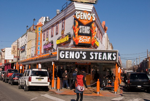 Geno's Steaks - Flickr CC bigbirdz