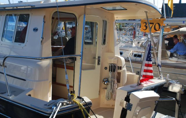 The Island Packet SP Cruiser is a motorsailer, featuring a large engine and ...