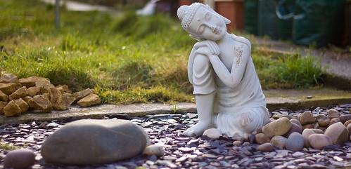 Backgarden Buddha
