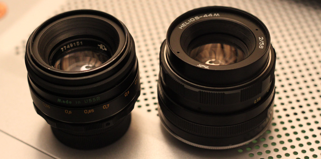 Helios M42 Lenses