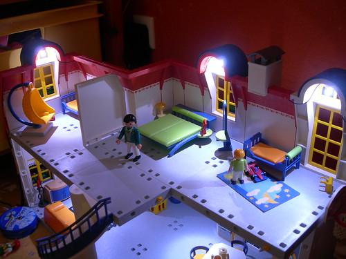 playmobil 6456 beleuchtungsset f r alle playmobil puppenh user vos. Black Bedroom Furniture Sets. Home Design Ideas