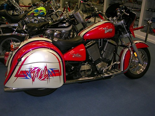 Petty Victory motorcycle
