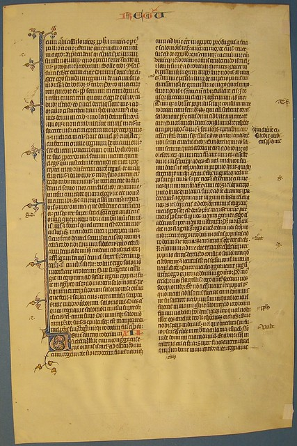BIBLE LEAF Ref 180 recto