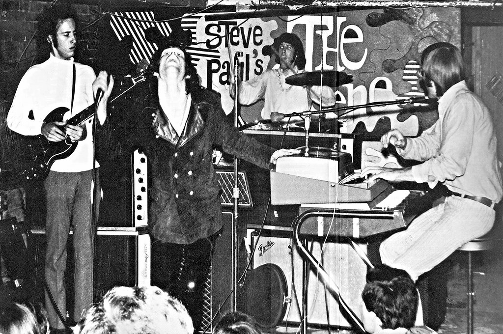 The Doors Perform At The Scene In New York During June