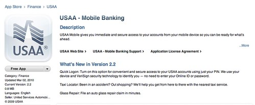 Usaa mobile login