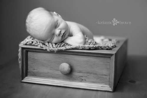 Baby in a drawer