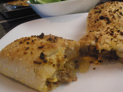 Vegan Cheesesteak Stromboli