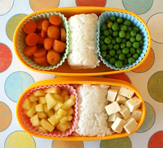 Toddler Bento #1: March 9, 2010