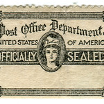 United States Official Stamp: officially sealed