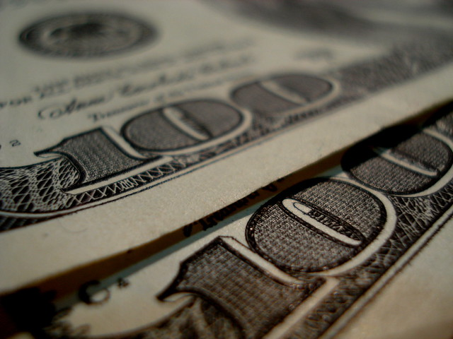 Two hundred dollars by flickr user suratlozowick