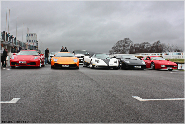 Supercar Line Up
